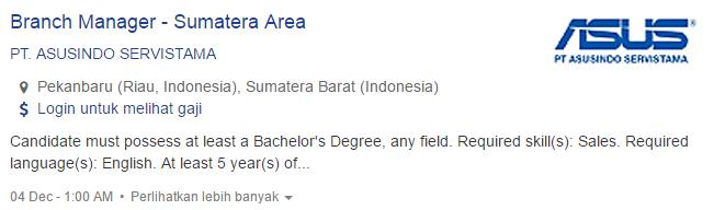 Lowongan Kerja Kabupaten Kepulauan Mentawai Terbaru 2019.