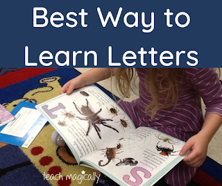 Best Way To Learn Letters by Teach Magically