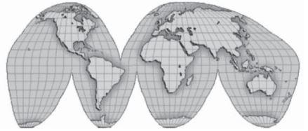 Pengertian Proyeksi Peta dan Jenisnya