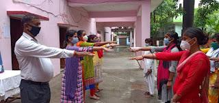 तिलकधारी महिला महाविद्यालय : NSS Day एवं स्वर्ण जयंती वर्ष पर जागरुकता कार्यक्रम आयोजित, देखें तस्वीरें | #NayaSaberaNetwork
