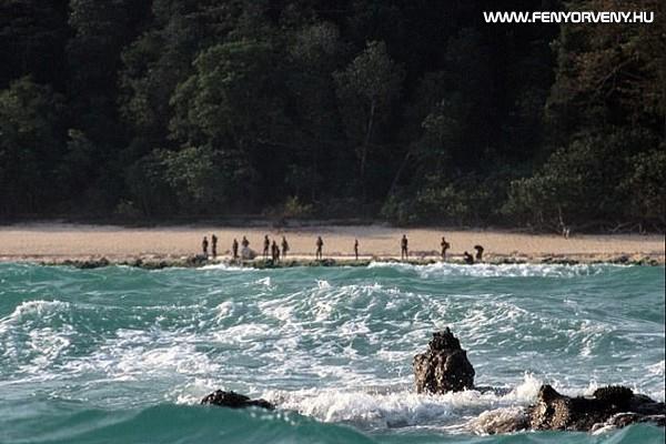 Északi Szentinel-sziget, India