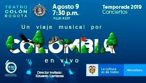 UN VIAJE MUSICAL POR COLOMBIA con la Sinfónica Nacional