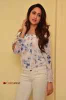 Actress Pragya Jaiswal Latest Pos in White Denim Jeans at Nakshatram Movie Teaser Launch  0063.JPG