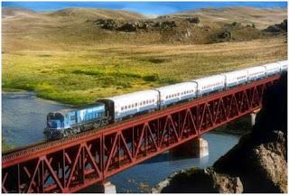 Recorrido del Tren Patagónico