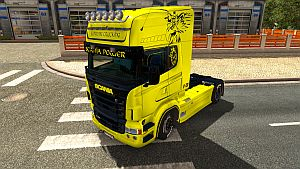 Supreme Trucking skin for Scania RJL