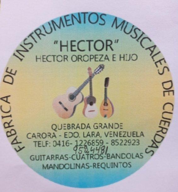 Fabrica de instrumentos musicales Hector Oropeza e Hijo