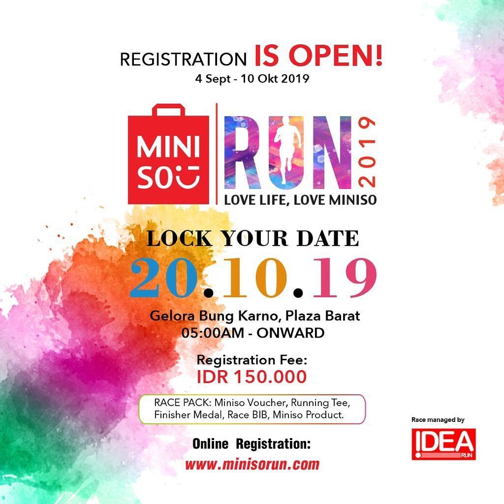 Miniso Run • 2019