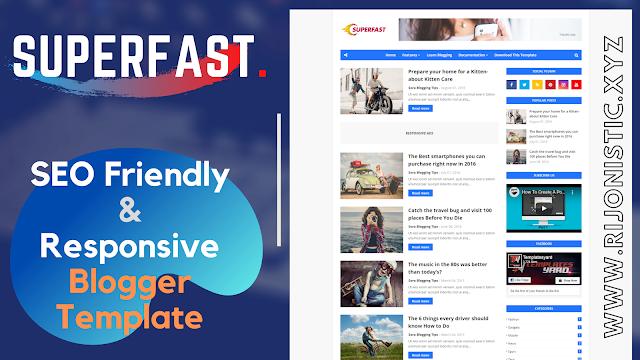 SuperFast Responsive & SEO Friendly Blogger Template   ফ্রী ডাউনলোড!