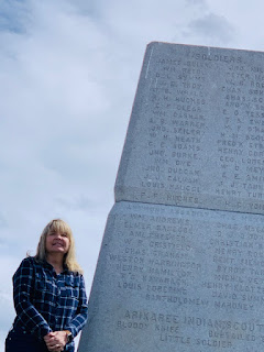 The monument and Heath's name high up