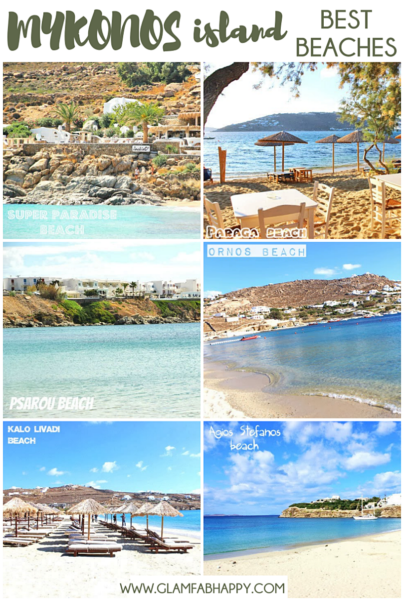MYKONOS ISLAND travel guide: Best beaches of island.Najbolje plaze Mikonos ostrva.