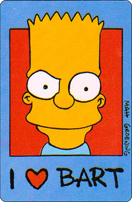 Bollycao The Simpsons Cromo 25