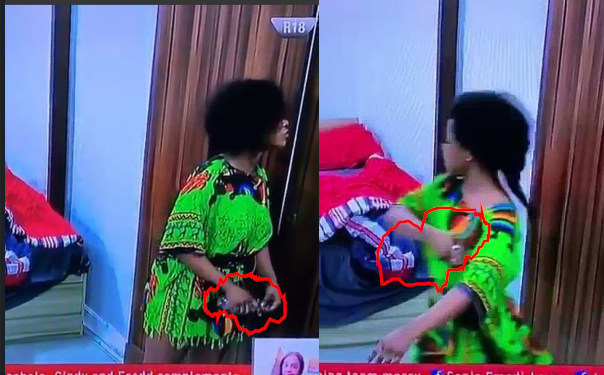 BBNaija: Tacha began spraying perfume on herself after being told she has body odor during face-off with Mercy