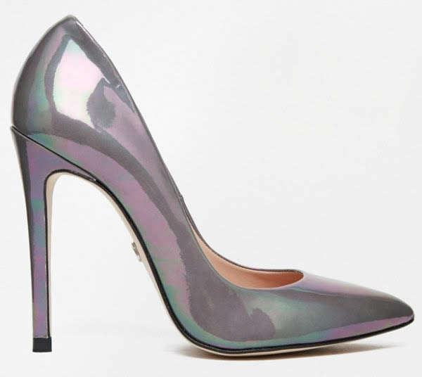 Supertrash Peekaboo oil slick courts stock image