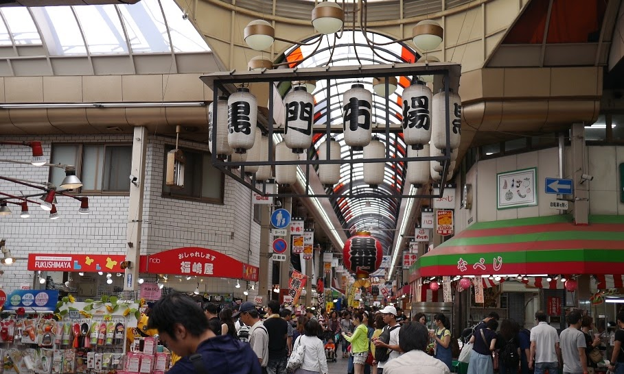 Japan Day 3, Osaka: Kuromon Ichiba Market, Instant Noodle Museum and Pom Pom Purin Cafe!