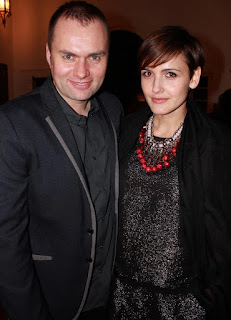Gabriela Oltean with her current spouse Alex