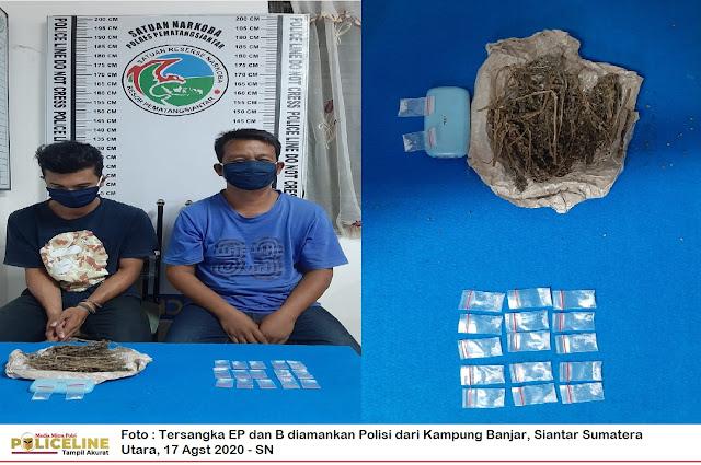 Kampung Banjar Siantar Sumatera Utara Disikat Polisi