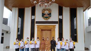 Humas DPRD Muaro Jambi Sambut Kunjungan Pwi Kabupaten Tanah Datar