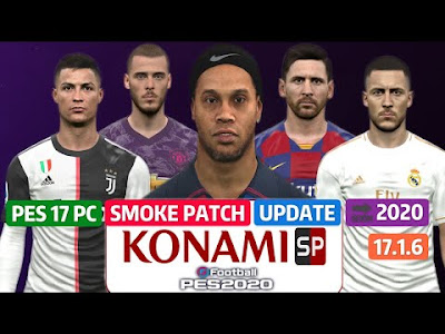 Smoke Patch 17 Update 17.1.6 Released 23.12 For PES 2017 PC