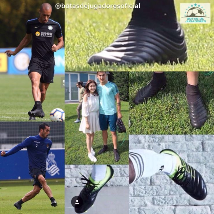 8af6b6990 The laceless Adidas Copa 19+ football boot will be worn by the likes of Paulo  Dybala and Miranda. They will be launched in a white