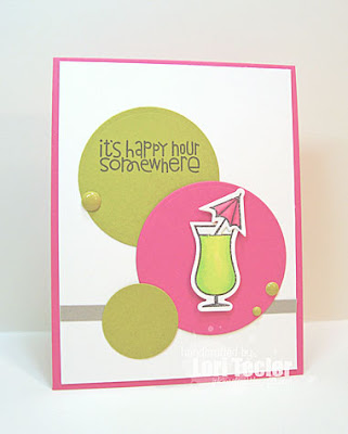 It's Happy Hour Somewhere card-designed by Lori Tecler/Inking Aloud-stamps from Paper Smooches