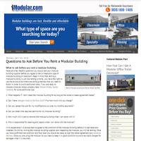 iModular.com helps you find a modular building