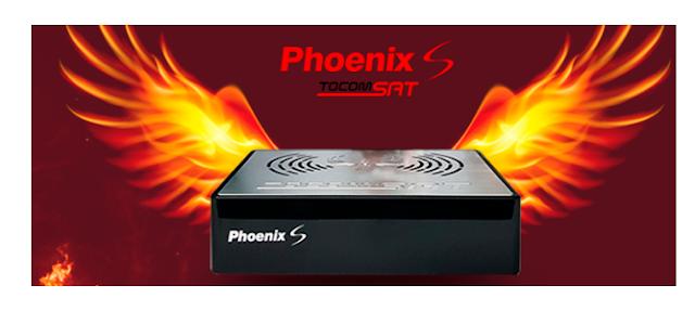 Tocomsat Phoenix S Atualização Modificada V1.37 - 24/08/2021