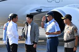 Presiden Bertolak ke NTB Tinjau Penanganan Korban Gempa Lombok