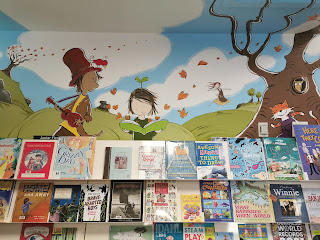 Tumut Library mural by Stephen Michael King
