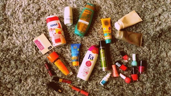 kosmetyki, lato, ulubieńcy,