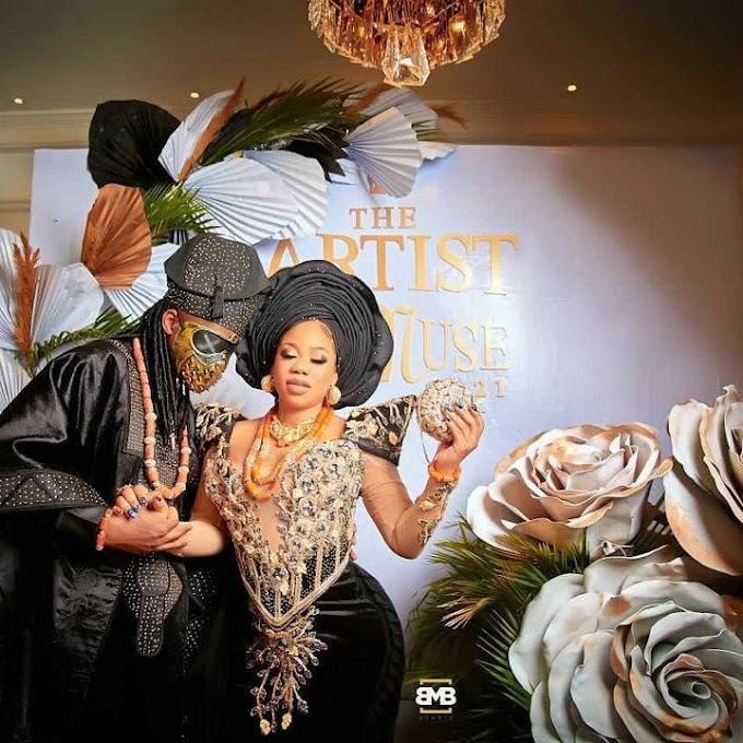 First Photos From Toyin Lawani's Traditional Wedding