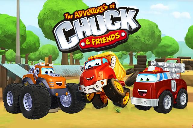 تشاك و الأصدقاء - Chuck & Friends