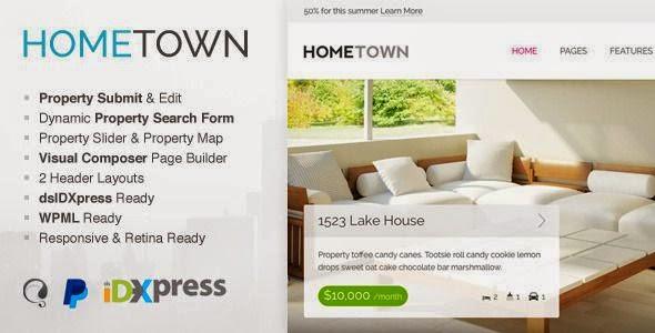free Real Estate WordPress Theme 2015