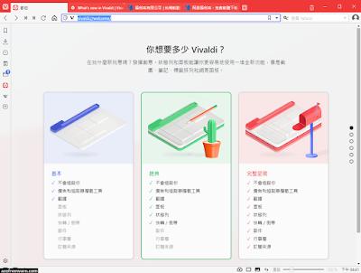 Vivaldi 韋瓦第瀏覽器
