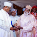 [PHOTOS] BUHARI Receives Leadership Of The Year AWARD