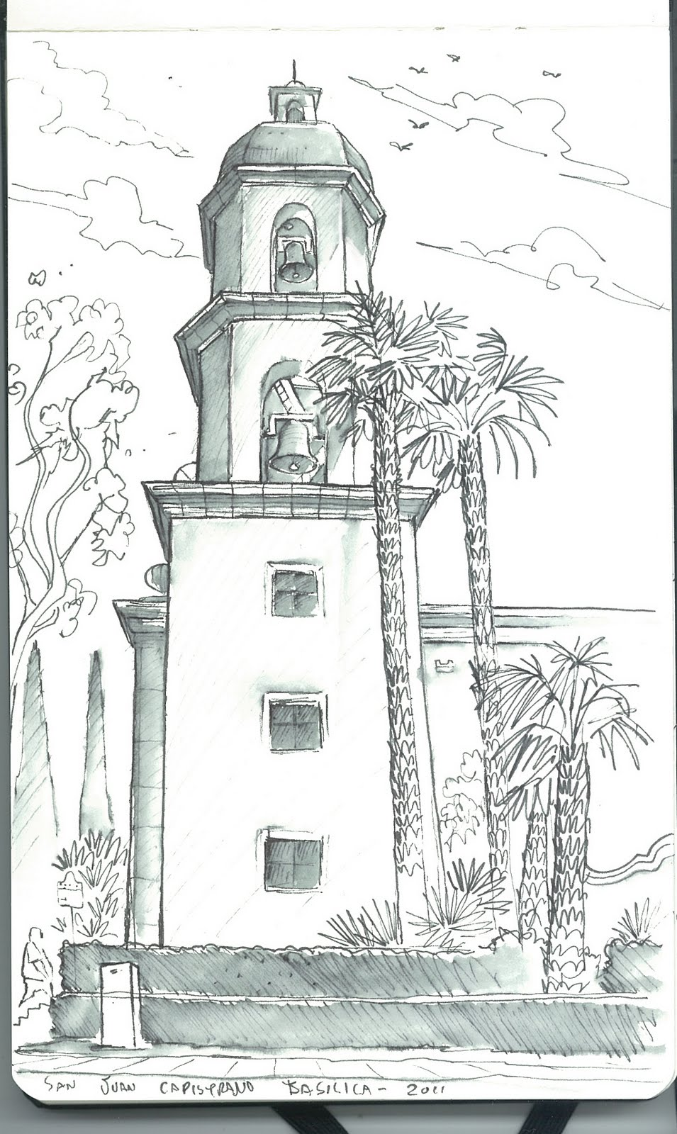 ca missions coloring pages - photo #39