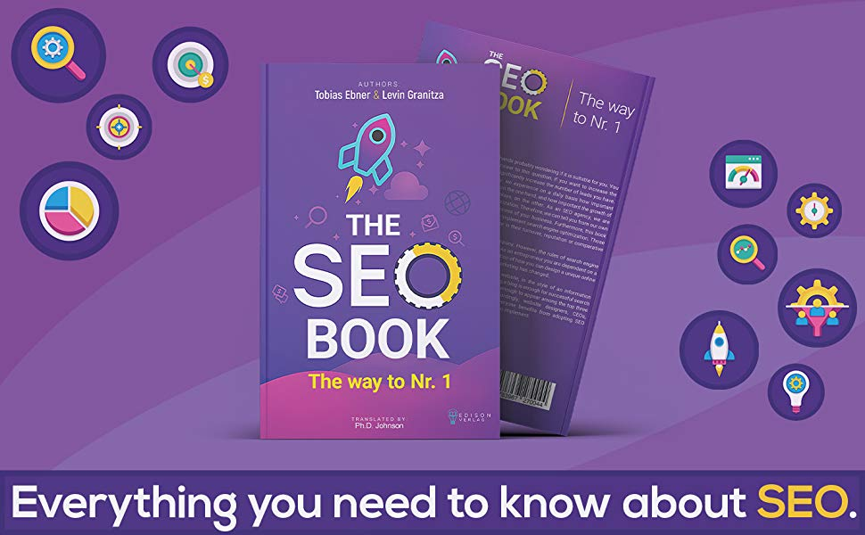 The SEO Book: Search engine optimization 2020, Free SEO Audit incl., Way to Nr. 1, SEO and SEM