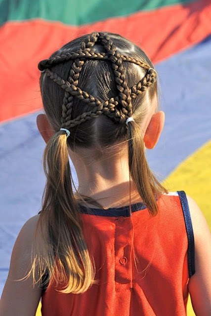 Hairstyles for Little Girls - Fancy Hairs With Braids