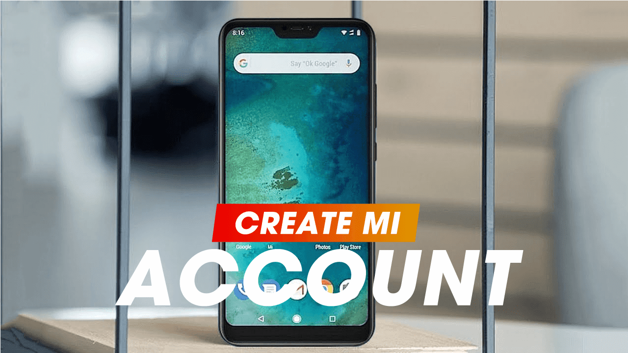 How to create a MI account easily