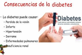 efectos secundarios de la Diabetes