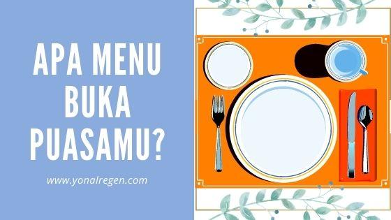 makanan dan minuman ikon buka puasa