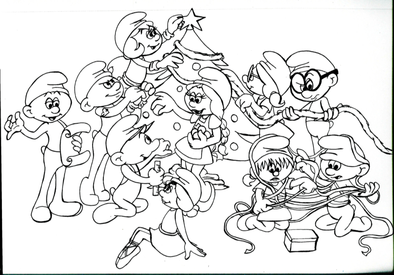 Coloring Smurfs Fantasy Coloring Pages Smurfs Coloring Pages