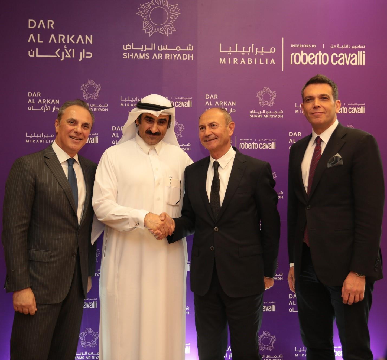 Company News In Egypt Dar Al Arkan Launches Mirabilia A Sr 600 Million Villas Development In The Sr 10 Billion Shams Ar Riyadh With Interiors By Roberto Cavalli