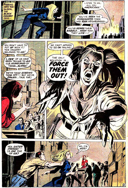 The Flash v1 #218 dc comic book page art by Neal Adams