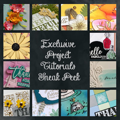 EXCLUSIVE Tutorial Sneak Peeks for my customers who purchase $50 or more of products from me during April!  | Nature's INKspirations by Angie McKenzie