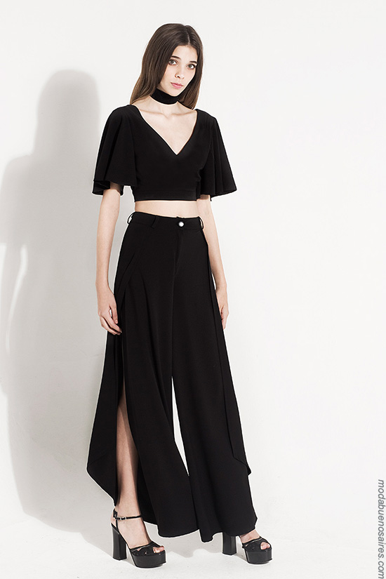 Palazzos de moda mujer verano 2017 ropa de mujer moda.