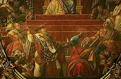 Το Μέγα θαύμα αποδείξεως της Τριαδικότητας του Θεού που έκανε ο Άγ. Σπυρίδωνας στην Α' Οικουμενική Σύνοδο