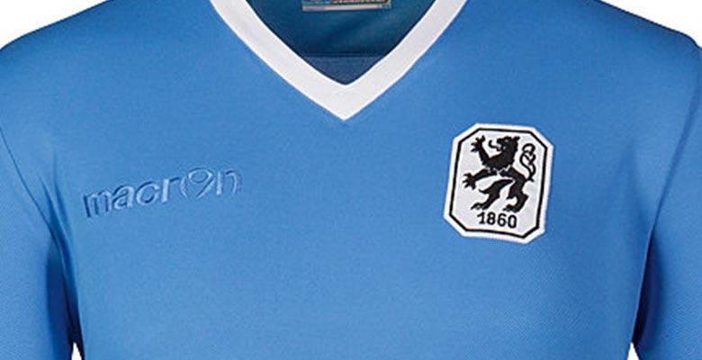 Nueva camiseta Macron del Munich 1860 en conmemoración a los 50 años de la  Bundesliga obtenida c3409f2cb8a73