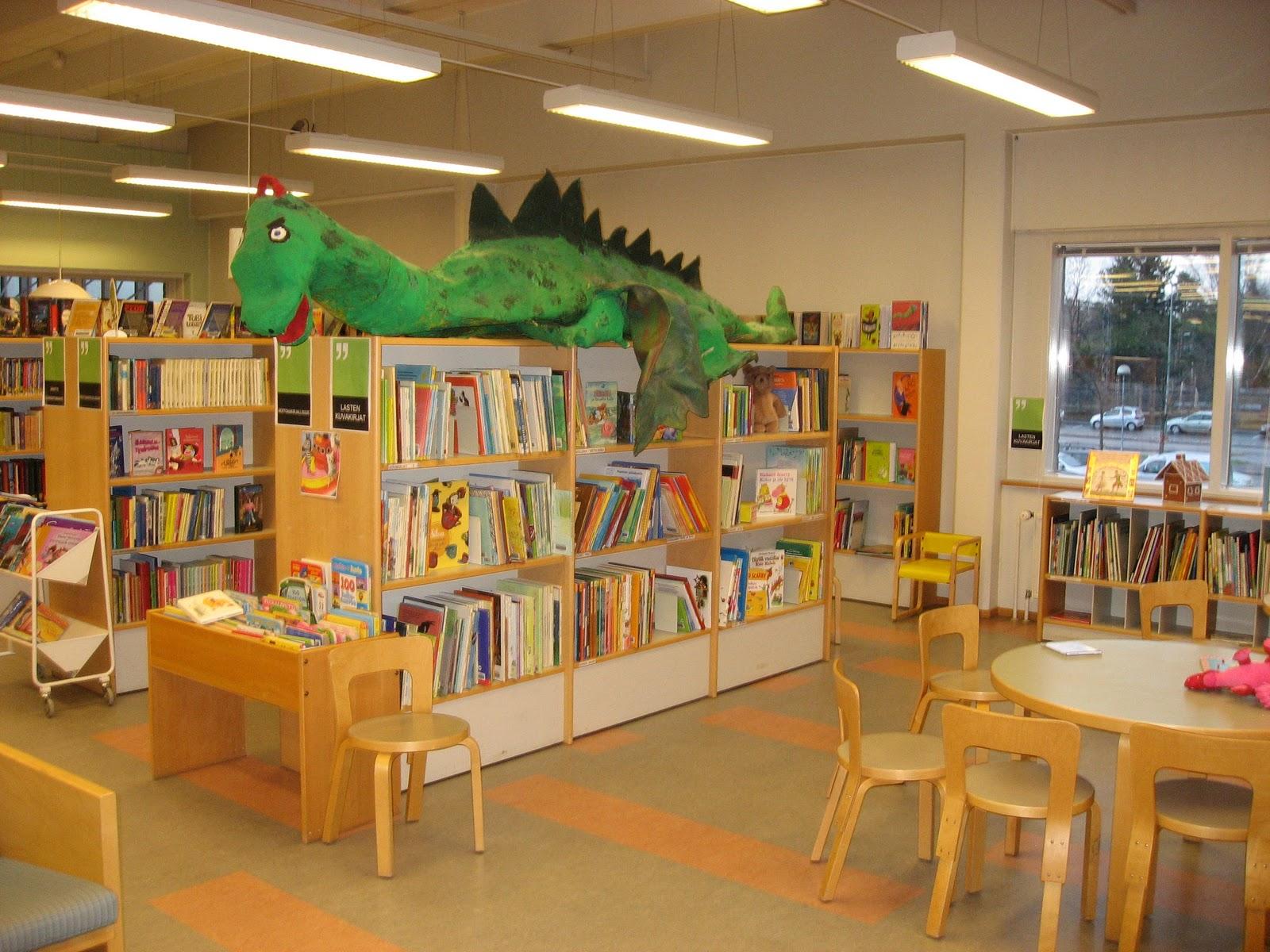 Tapulikaupunki Kirjasto