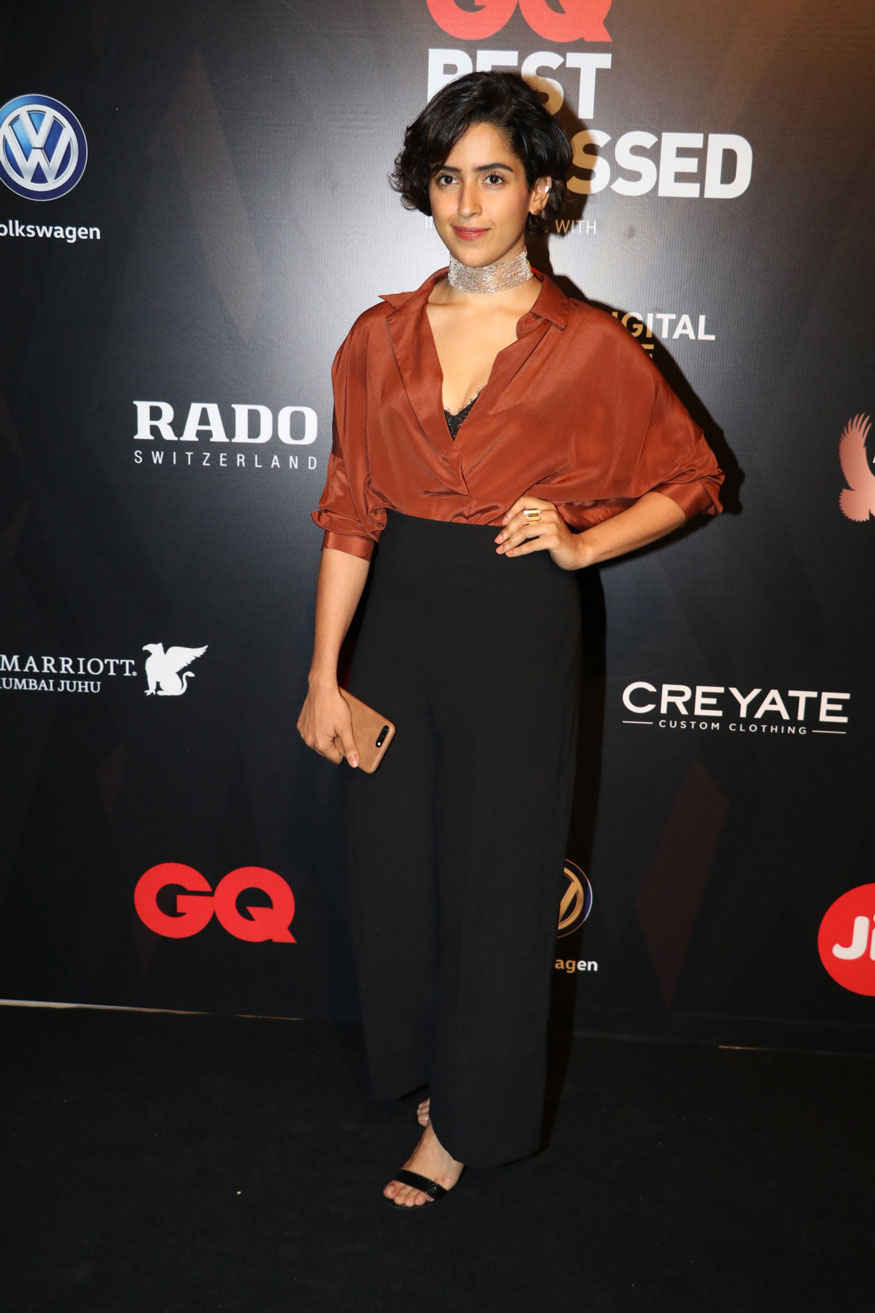 Adah Sharma and Sanya Malhotra Attends The GQ Best Dressed Awards Event
