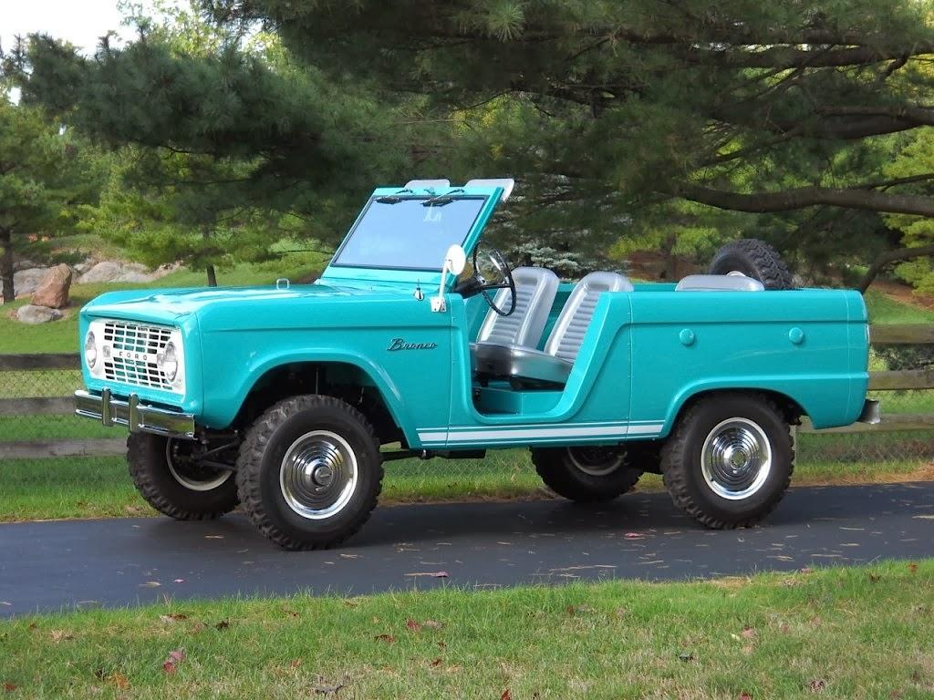 FAB WHEELS DIGEST (F.W.D.): Ford 1st Generation Bronco U13